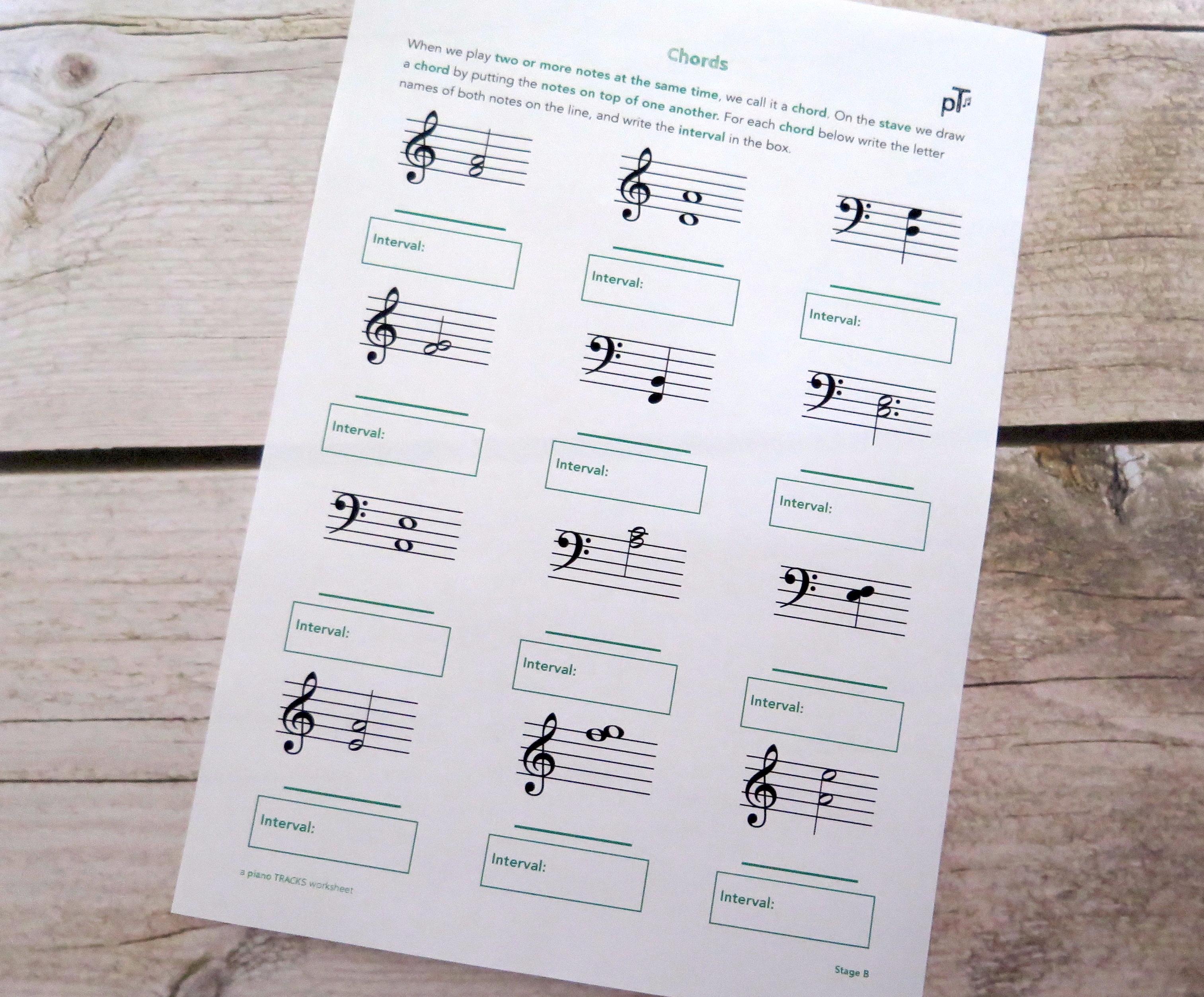 Stage B Chords & Intervals