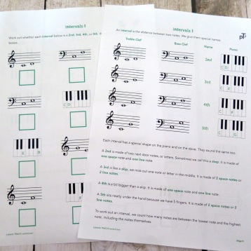Stage B Intervals Quiz 1