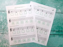 Stage B Treble Clef D to A (major)
