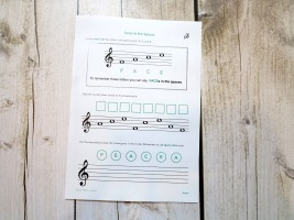 Stage B Treble Clef FACE Introduction