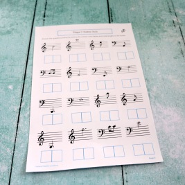 D1D2 Letters and Lengths Quiz Front