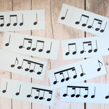 Stage D 4-4 Dotted Quaver Semiquaver Groups Notes Only 1