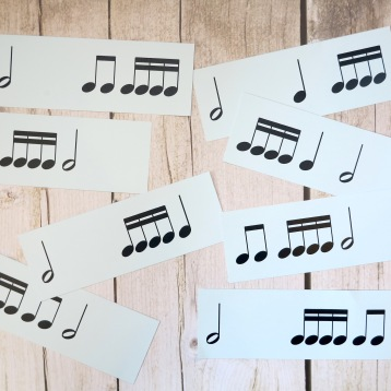 Stage D 4-4 Semiquaver Groups Notes Only 1