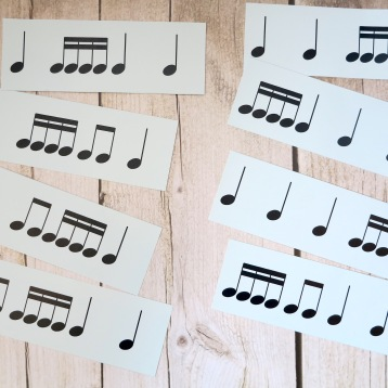 Stage D 4-4 Semiquaver Groups Notes Only 3
